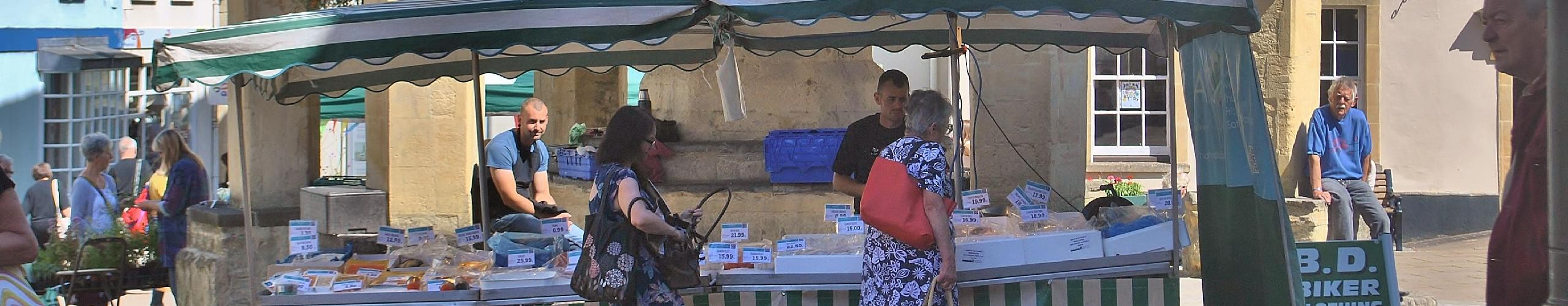 Shepton Mallet fish stall