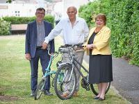 An image relating to Sir Vince Cable visits Mendip