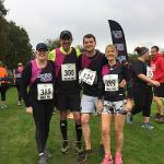 An image relating to Council staff complete the Mells 10k to raise money for charity of the Year