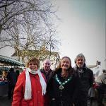 An image relating to Jingle Wells! Mendip market proves popular with Christmas crowds