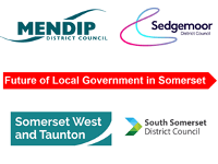 An image relating to 30.07.20 Joint Statement from the leaders of Mendip District Council, Sedgemoor District Council, Somerset West & Taunton Council and South Somerset District Council