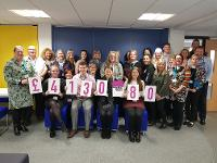 An image relating to Record-breaking charity fundraising from staff at Mendip