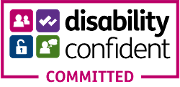Disability Confident - Committed logo
