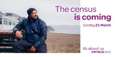 The Census is coming 21 March 2021